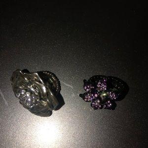 Jewelry - Flower rings